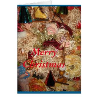 Het Elf van Kerstmis Wenskaart