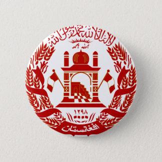 het embleem van Afghanistan Ronde Button 5,7 Cm