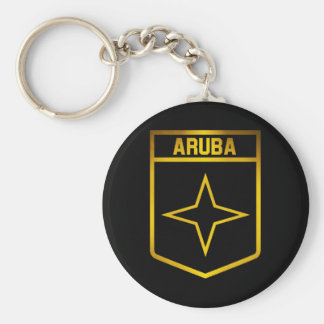 Het Embleem van Aruba Sleutelhanger