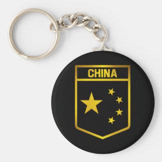 Het Embleem van China Sleutelhanger