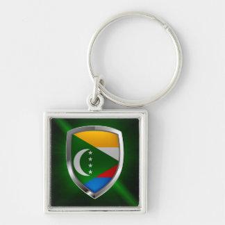 Het Embleem van de Comoren Mettalic Sleutelhanger