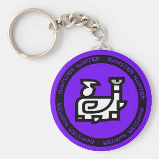 het embleem van de de jachthoorn keychain sleutelhanger