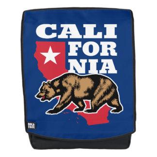 Het Embleem van de Grizzly van Californië Rugtassen