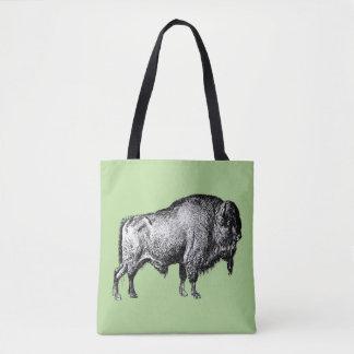 Het Embleem van het Bolsa van buffels Draagtas