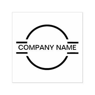 Het Embleem van het Logo van het Monogram van het Zelfinktende Stempel