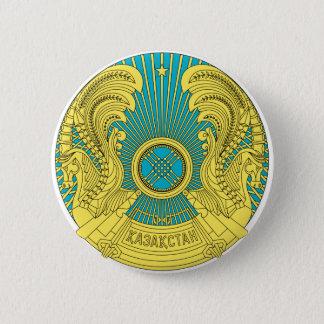 het embleem van Kazachstan Ronde Button 5,7 Cm