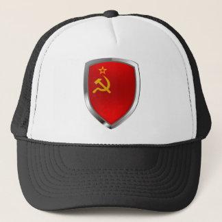 Het Embleem van Mettalic van de Unie van Sovietic Trucker Pet