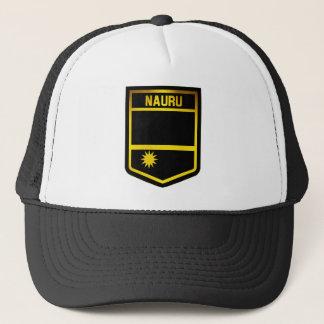 Het Embleem van Nauru Trucker Pet