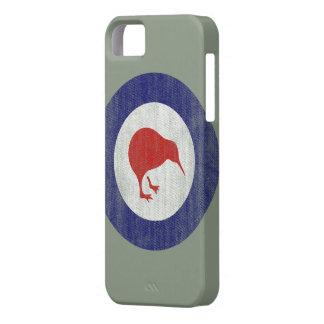Het embleemiphone 5 van Nieuw Zeeland hoesje Barely There iPhone 5 Hoesje