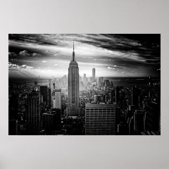 Het Empire State Building van de Stad van New York Poster