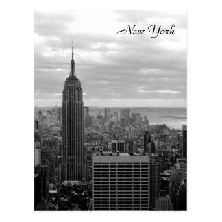 Het Empire State Building (Zwart & Wit) Briefkaart