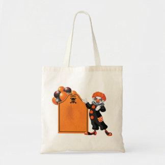 Het enge Canvas tas van de Clown