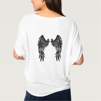 Het engel Bevederde Overhemd van Vleugels voor T Shirt