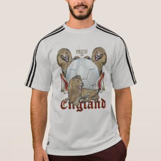 Het Engelse Football van drie Leeuwen T Shirt