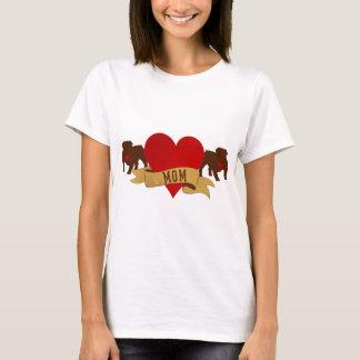 Het Engelse Mamma van de Buldog [de stijl van het T Shirt