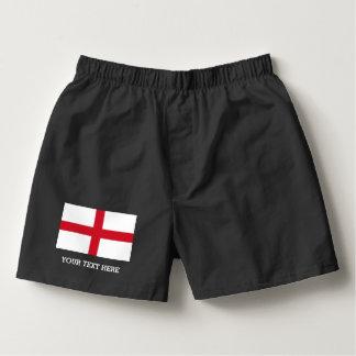 Het Engelse ondergoed van de bokserborrels van de