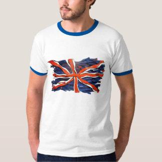 Het Engelse Overhemd van de Vlag T Shirt
