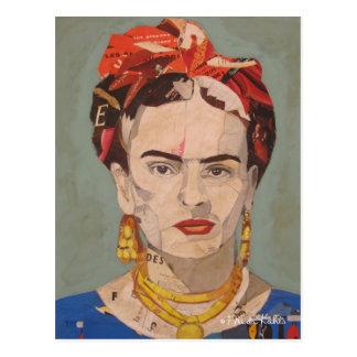 Het Engelse Portret Coyoacán van Frida Kahlo Briefkaart