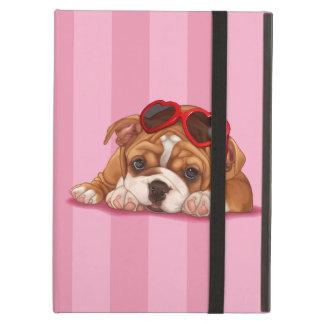 Het Engelse Puppy van de Buldog iPad Air Hoesje