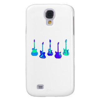 Het Ensemble van de gitaar Galaxy S4 Hoesje