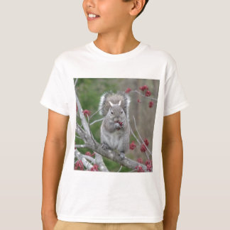 Het eten van de eekhoorn t shirt