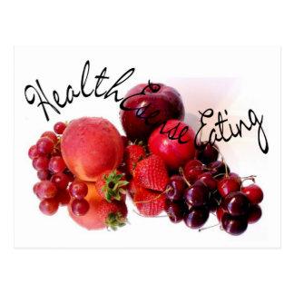 Het Eten van HealthEsense Briefkaart