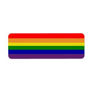 Het Etiket van Avery van de regenboog
