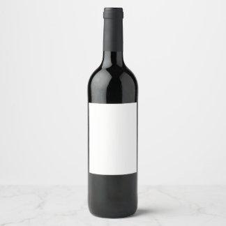Het Etiket van de Fles van de wijn