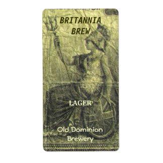 Het Etiket van de fles van het Bier van Verzendlabel
