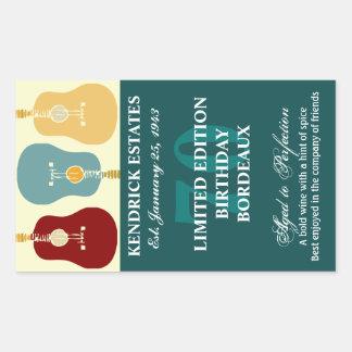 Het Etiket van de Wijn van gitaren - Wintertaling