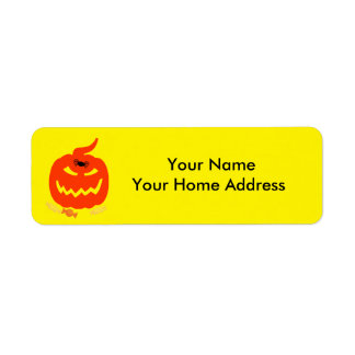 Het Etiket van het Adres van het Etiket van de