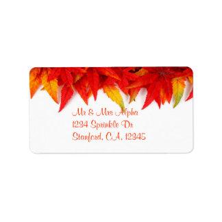 Het Etiket van thanksgiving day