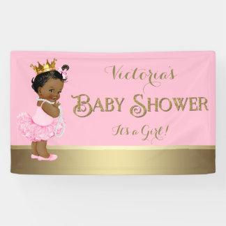 Het etnische Baby shower van de Parels van de Tutu Spandoek