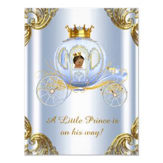 Het etnische Baby shower van de Prins van het 10,8x13,9 Uitnodiging Kaart