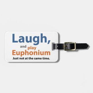 Het Euphonium van de lach en van het Spel Kofferlabel