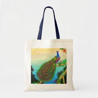Het exotische Canvas tas van de Pauw