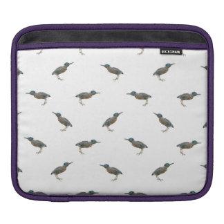 Het exotische Patroon van het Motief van Vogels Beschermhoes Voor iPad