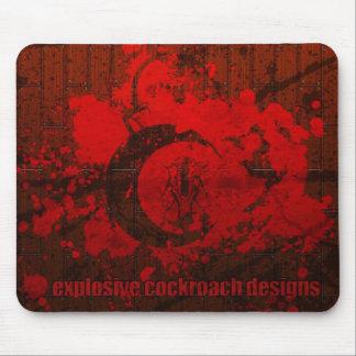 Het explosieve Design Mousepad van de Kakkerlak Muismat