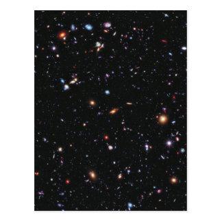 Het extreme Diepe Gebied van Hubble Briefkaart