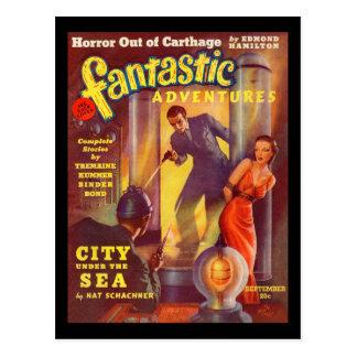 Het fantastische Art. van Avonturen 1939-09_Pulp Briefkaart