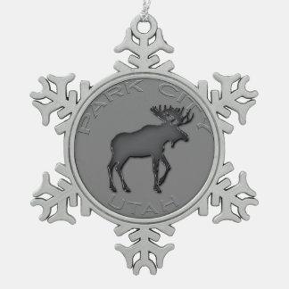 Het fantastische Ornament van de Sneeuwvlok van de