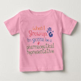 Het farmaceutische Representatieve (Toekomstige) Baby T Shirts