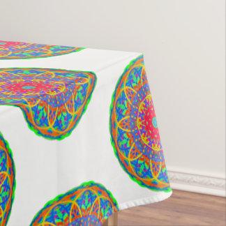 Het favoriete Kleurrijke Tafelkleed Mandala van de