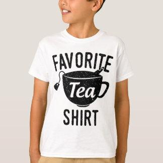 Het favoriete Overhemd van de Thee T Shirt