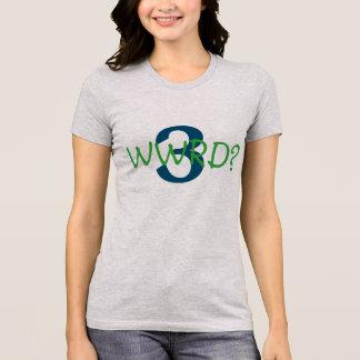 """Het Favoriete t-shirt van vrouwen """"wat Russell """""""