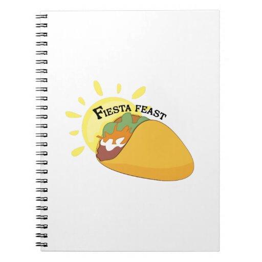 Het Feest van de fiesta Ringband Notitieboek