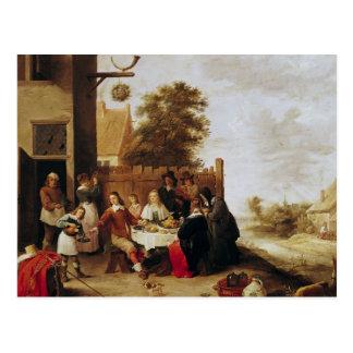 Het feest van Kwistige Zoon, 1644 Briefkaart