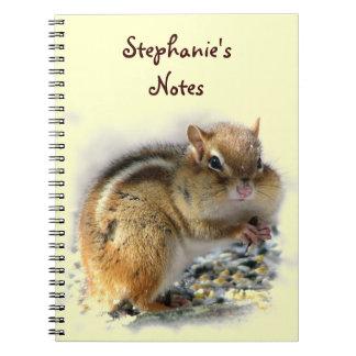 Het feesten Aardeekhoorn Notitieboek