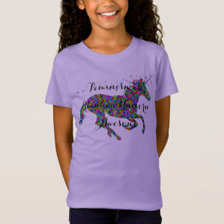 Het feminisme is T-shirt van de Meisjes van de