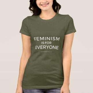 """Het """"feminisme is voor iedereen"""" T-shirts"""
